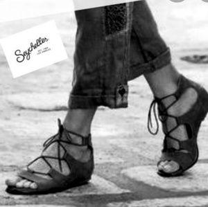 Seychelles Ghillie Lace Up Sandal